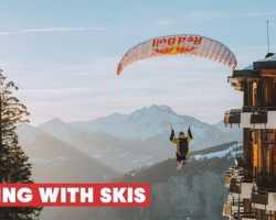 Спидрайдинг в альпийском курорте | Из Авориаза с любовью (Видео)