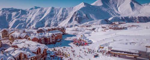 Обзор горнолыжного курорта Гудаури