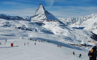Особенности активного отдыха зимой в Церматте