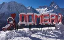 Обзор горнолыжного курорта Домбай
