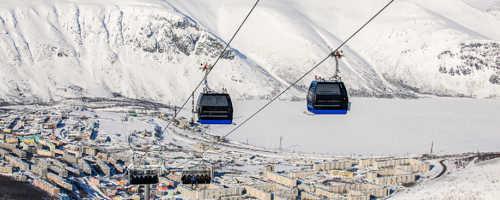 Описание горнолыжного курорта Большой Вудъявр