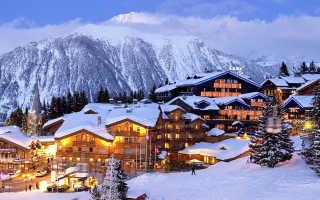 В какой стране находится горнолыжный курорт «Куршевель»